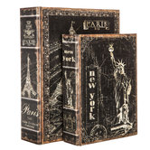 Paris & New York Book Box Set